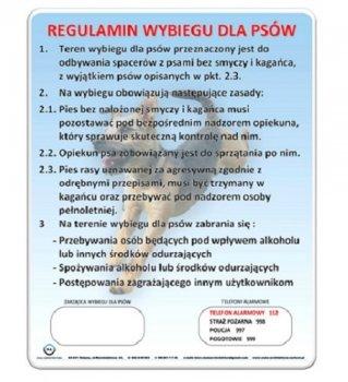 Regulamin Placu dla Psów